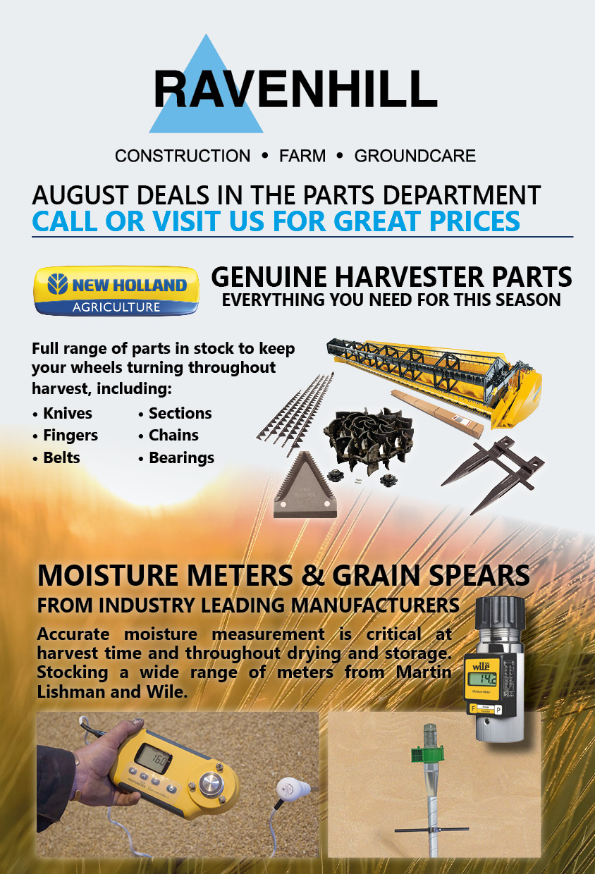 Ravenhill Monthly Parts Insert August 2019