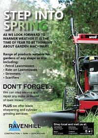 Spotlight Lawn Mowers Servicing Feb 2019