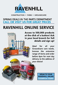 Ravenhill Groundcare Parts Insert May 2019