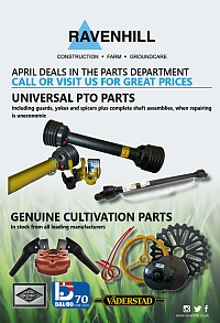 Ravenhill Monthly Parts Insert April 2019